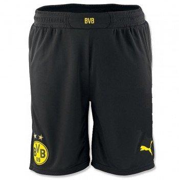 Puma Herren Shorts BVB Replica 745896 , schwarz (Black-Cyber Yellow), XXL, -