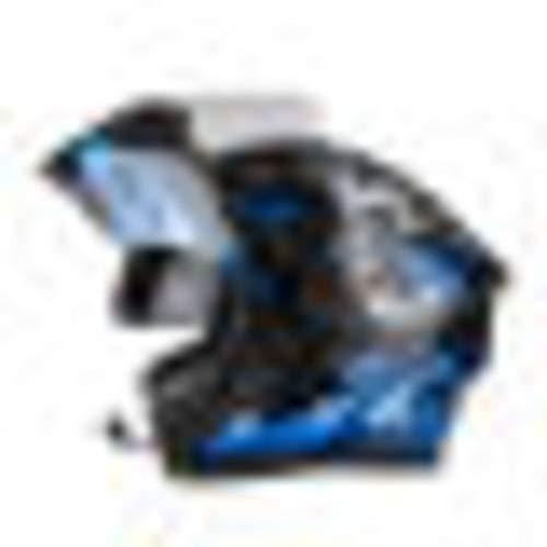 Completo-Viso-Caschi-Moto-Interno-Visiera-Parasole-Ulteriori-Lente-Anti-fog-Per-Off-Road-Riding-Degli-Adulti
