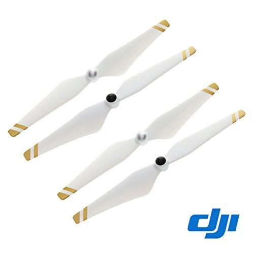 2Paar Original DJI 9450selbstspannend Propeller für Phantom 3Pro, ADV (Gold Streifen)