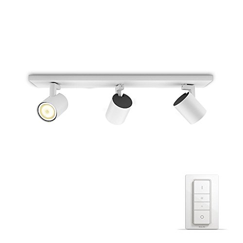 Philips Lighting 3 luci 5309331P7 Hue White Ambiance Faretto LED Spot Runner...