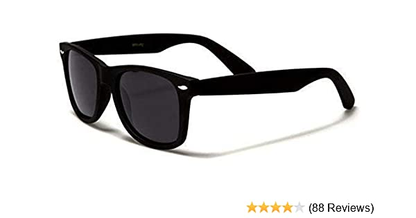 2177fed702 Polarised Wayfarer Sunglasses – Black Cat 3 Lenses Offering Full UV400  Protection – Available in 4 Colours – Ideal For Driving   Fishing -  Complete with ...