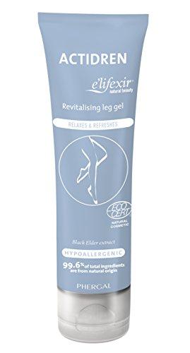 e'lifexir Natural Beauty Actidren - Crema revitalizante para piernas