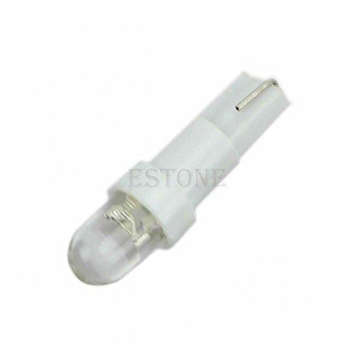 Preisvergleich Produktbild MagiDeal 10pcs T5 12V Auto Weiße LED Kfz Kennzeichen Licht Armaturenbrett Lampen Birne