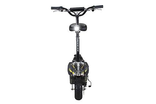 E-Scooter Roller Original E-Flux Freeride 1000 Watt 48 V mit Licht und Freilauf Elektroroller E-Roller in vielen Farben (schwarz) - 4
