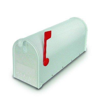 Alubox 34328 topolino usa/1 cassetta posta, bianco