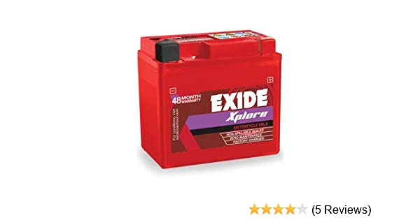 Exide Honda Activa Sealed Battery No Maintenance Honda,Hero