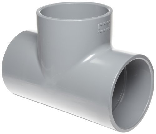 Spears 801-C Series CPVC Pipe Fitting, Tee, Schedule 80, 1
