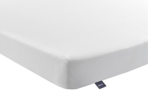 Silentnight Comfortable 25NZ14135MR0001 Foam Rolled Mattress - Double - White