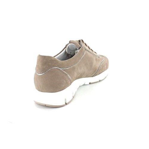 Mephisto Yamina Bucksoft 6960/PERLKID 10168 Warm Grey, Pantofole da Donna Beige