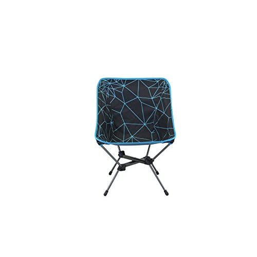 Portal Outdoor Unisex's Malta Foldable Camping Chair, Black/Blue, One Size