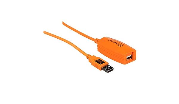 Tether Tools Tetherpro Usb 2 0 Active Extension 15m Orange Küche Haushalt