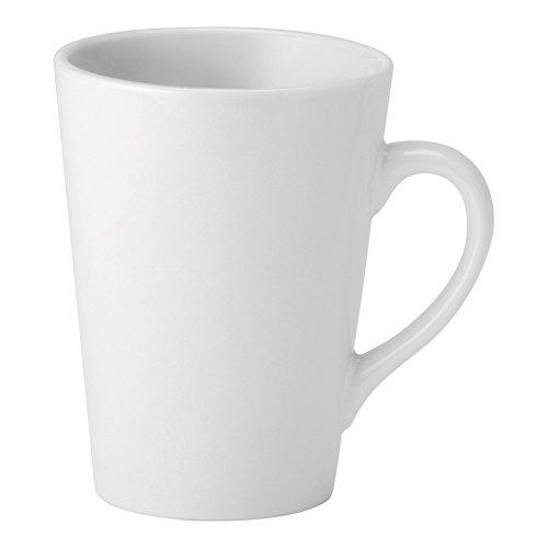 Utopia Pure White, E90024-000000-B06024, Latte Mug 8.5oz (25cl) (Box of 24)