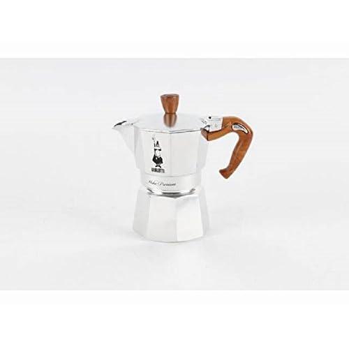 "31HYhAYjQPL. SS500  - Bialetti 6152"" Moka Express Wood Espresso Maker for 3 Cups, Multi-Colour"