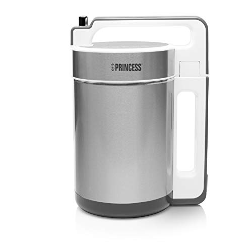 Princess 212042 - Sopera eléctrica y máquina para hacer sopa, batidos o salsas, capacidad de 1.5 litros...