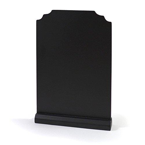 l / Schild zum Aufstellen und beschriften - 21 x 14 cm - Holztafel / Hochzeitsschild / Hochzeitstafel / Tafel Hochzeit / Wegweiser / Memotafel / Kreidetafel / Menütafel (Hochzeits-tafel)