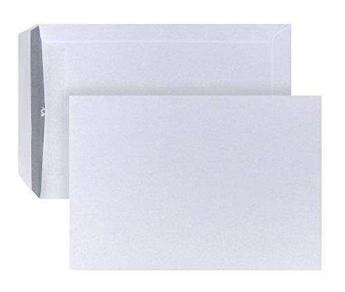 Post Cuerno 04250321Bolsa de envío autoadhesivo, 500unidades, B5, 176x 250mm, 90g, color blanco