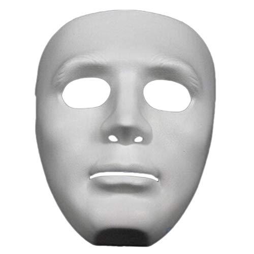 chungeng Ghost Maskenball-Maske, für Männer, Jungen, für Kostüm, Abschlussball, UK für Heimdekoration - Farben (Jungen Kostüme Uk)