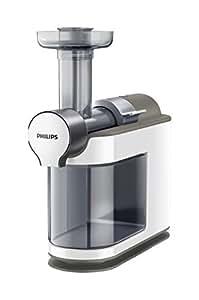 Philips HR1894/80 Micro Juicer Estrattore di Succo con Tecnologia Micro Masticating, Tubo d'Inserimento XL, senza Ricettario, Bianco