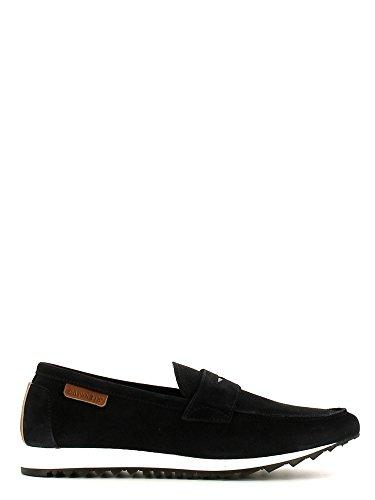 Pantofola in velour Cafè Noir art.QE641 Blu Blu