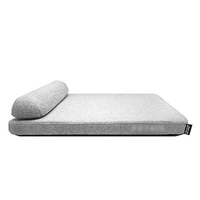 GWM Luxury Orthopedic Waterproof Memory Foam Dog Beds & Crate Mat,Deep Sleep Washable Cover Anti-Slip Matress Small Medium Large Pets from GWM