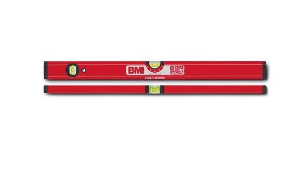 pulverbeschichtet L/änge 80 cm BMI 699080A Wasserwaage Superstar