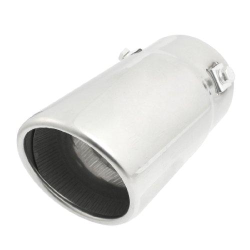 sourcingmap Embout Pot d'échappement 70mm Inlet en Acier Inoxydable