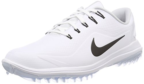 official photos 5cf14 de309 Nike Lunar Control Vapor 2, Zapatos de Golf para Hombre, Blanco (White