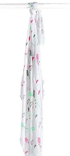 lulujo–Lange aus Bambus–Kite Rosa–Stoff–121–005–004