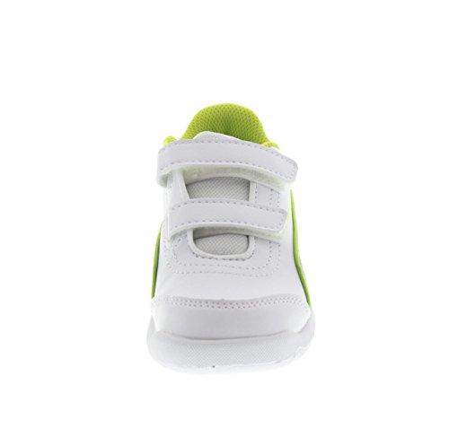 Puma , Chaussures de gymnastique pour garçon bianco - 024 WHT-NVY