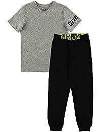 0018fdbd52e1d Amazon.co.uk  Calvin Klein - Sleepwear   Robes   Boys  Clothing