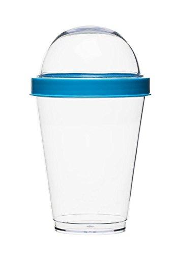 Sagaform Pot pour yaourt en plastique, turquoise