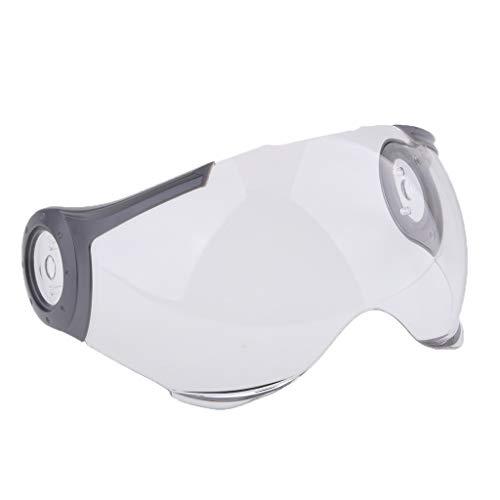 B Blesiya 1 Stück Helmvisier Helme Linsenschild Motocross Helme Sonnenstrahlen Für Paulo 530 Helme - klar