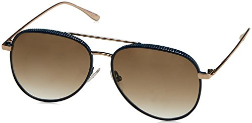 Jimmy Choo Damen RETO/S XY OOZ 57 Sonnenbrille, Blau (Bluette Gold/Light Brwn Sf),