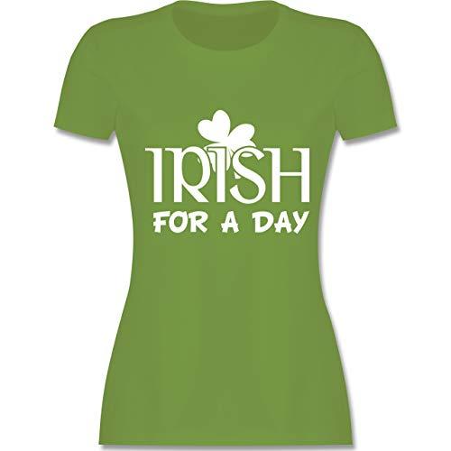 St. Patricks Day - Irish for A Day St Patricks Day - M - Hellgrün - L191 - Damen Tshirt und Frauen T-Shirt
