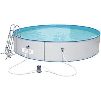 Bestway Hydrium Splasher Swimming Pool Set, 14110 Liters, White, 15 ft x 36-Inch/4.60 x 90 cm