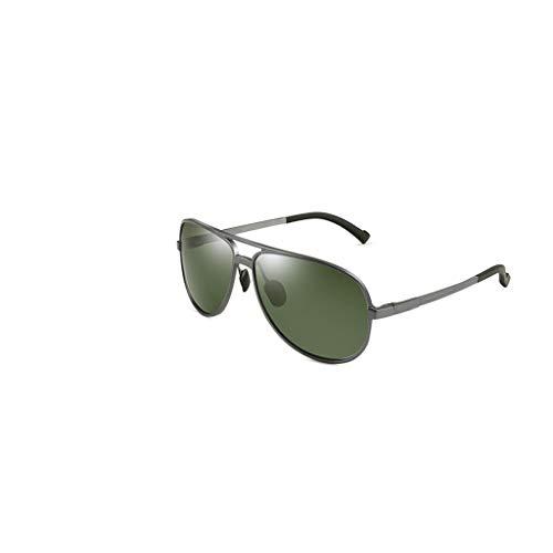 RJYJ Polarisierte Herren-Sonnenbrillen Sind Elegant, TAC-Gläser Sind UV-beständig Und 30-Fach Ultraleicht (Color : Green)
