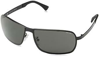 Police Men's S8767 66531F Sunglasses, Grey (Semi-Matt
