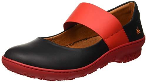 Art Damen 1426 Grass Black-Grosella/Antibes Mary Jane Halbschuhe, Schwarz, 38 EU - Art Schuhe
