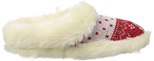 Lotus Leland, Chaussons femme Rouge (Red Multi)
