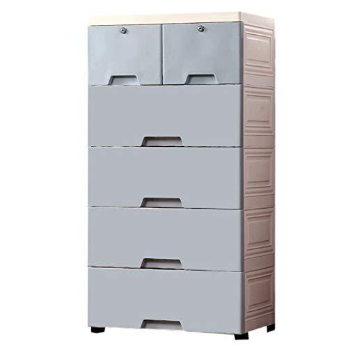 Armoires de Rangement boîte de Rangement à la Maison épais tiroir de Rangement boîte de Rangement de la Chambre Garde-Robe de Protection de l'environnement matériel de Mode PP