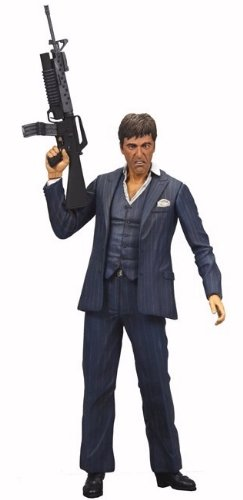 Scarface Tony Montana Actionfigur Blue Suit Version