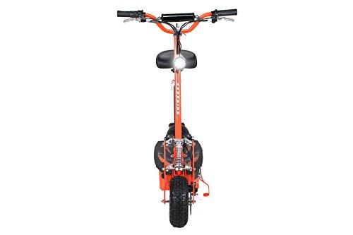 E-Scooter Roller Original E-Flux Freeride 1000 Watt 48 V mit Licht und Freilauf Elektroroller E-Roller in vielen Farben (orange) - 5