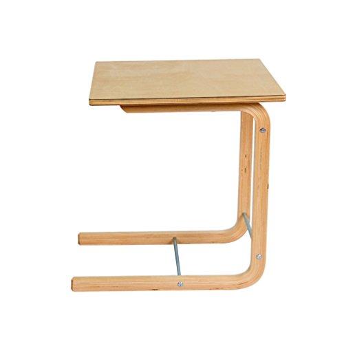 Glj un tavolino in legno massello curvo tavolino da salotto un piccolo angolo qualche comodino sul comodino tavolo pieghevole (dimensioni : 45 * 45 * 56.5cm)