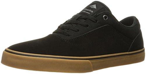 Emerica The Herman G6 Vulc, Chaussures de skateboard homme Noir (Black Black Gum 544)