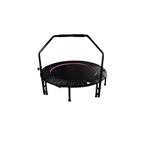 Yxsd-Trampolin Erwachsene Kinderarmlehnen Home Enhanced Fitness Silent Folding Spring Trampolin (40 Zoll) (Spring Trampolin)