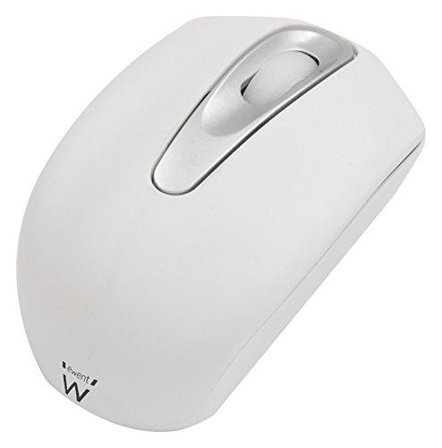 Ewent Mini Mouse Ottico USB, Bianco