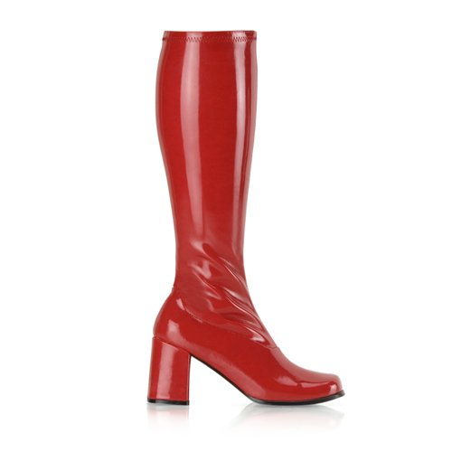 Higher-Heels, chaussures de verni pour homme laque rouge