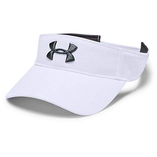 Under Armour Men's Core Golf Visor Casquette Homme, Blanc,...