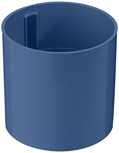 a magnetische Vase Zylinder, blau / grau, Ø 10,5 cm (Kunststoff-zylinder Vase)