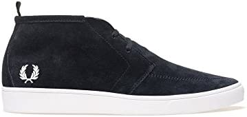 Fred Perry Men's Shields Men's Suede Navy Desert Boots